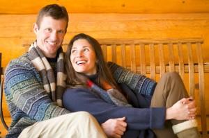 Happy husband & Wife Photo